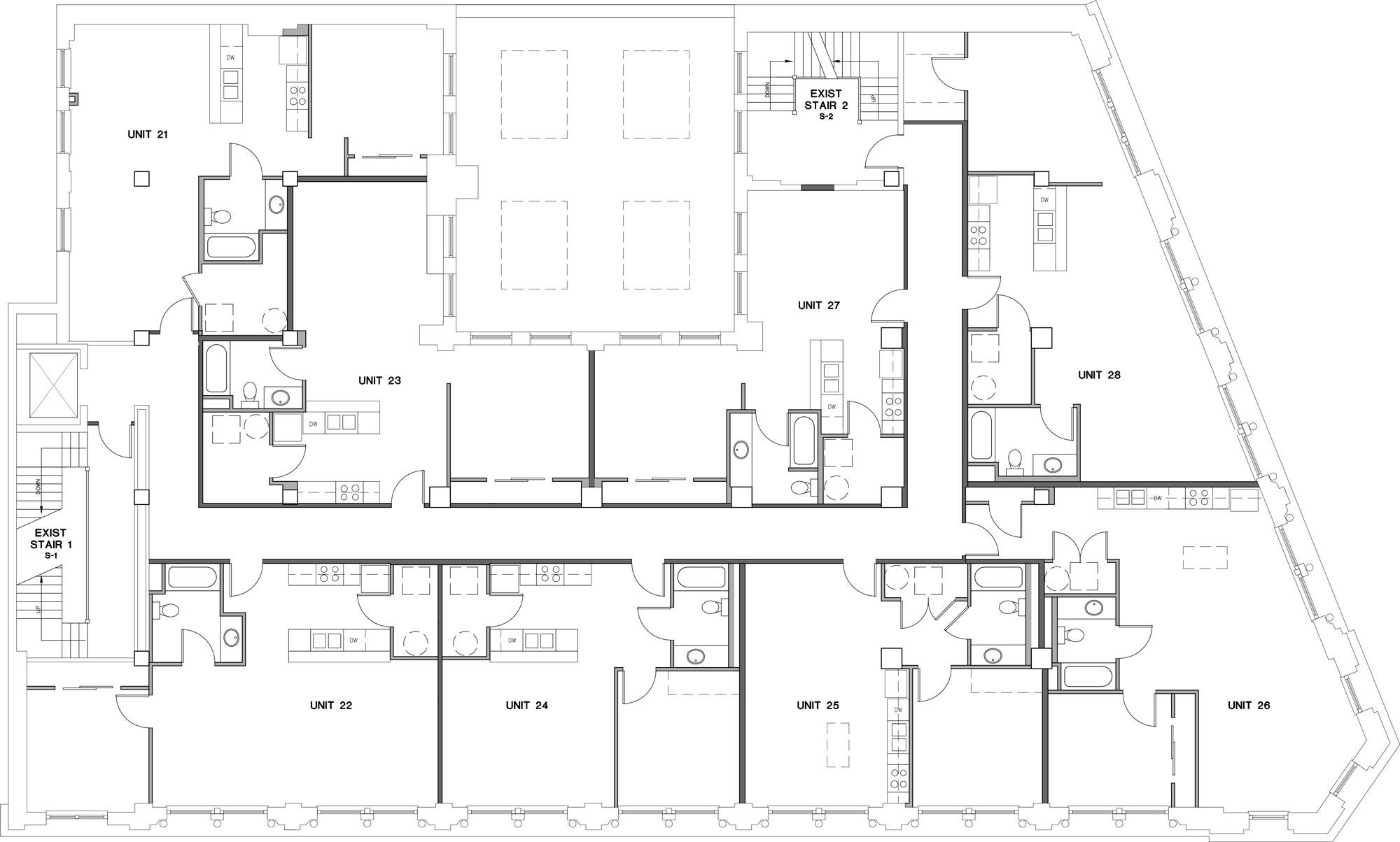 Mutual Building Second Floor Plan